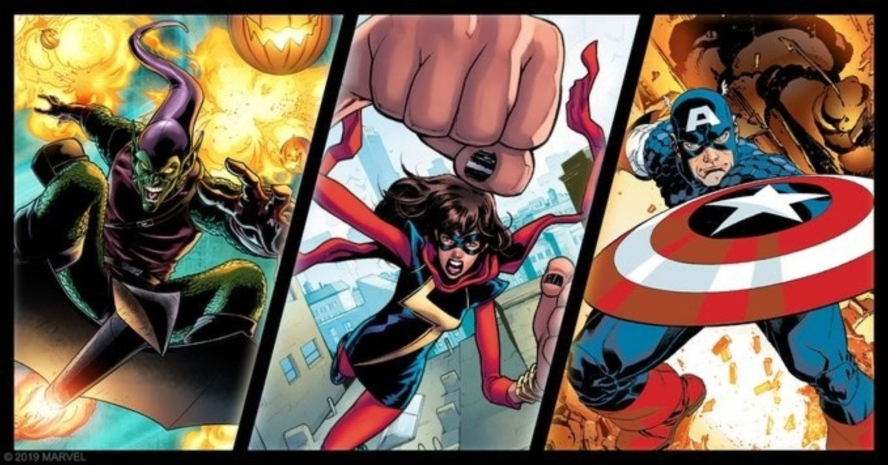 Marvel Champions Bumps Up Release Dates for Captain America, Ms Marvel, and Green Goblin Packs