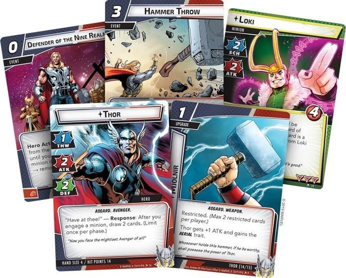 Marvel-Champions-Thor-Hero-Pack-Cards