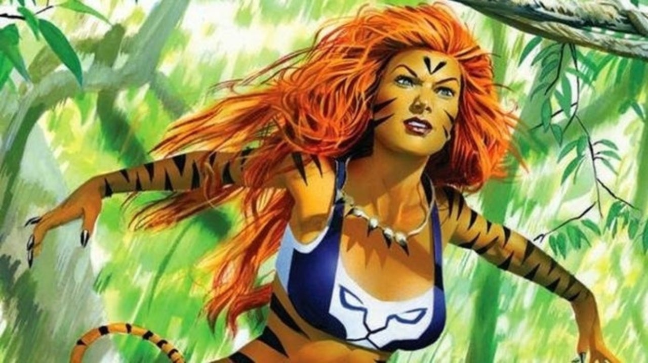 Image result for Tigra Marvel Shows