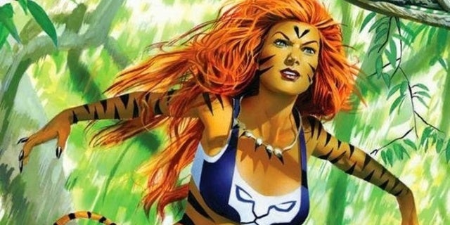 Marvel's Tigra Comic