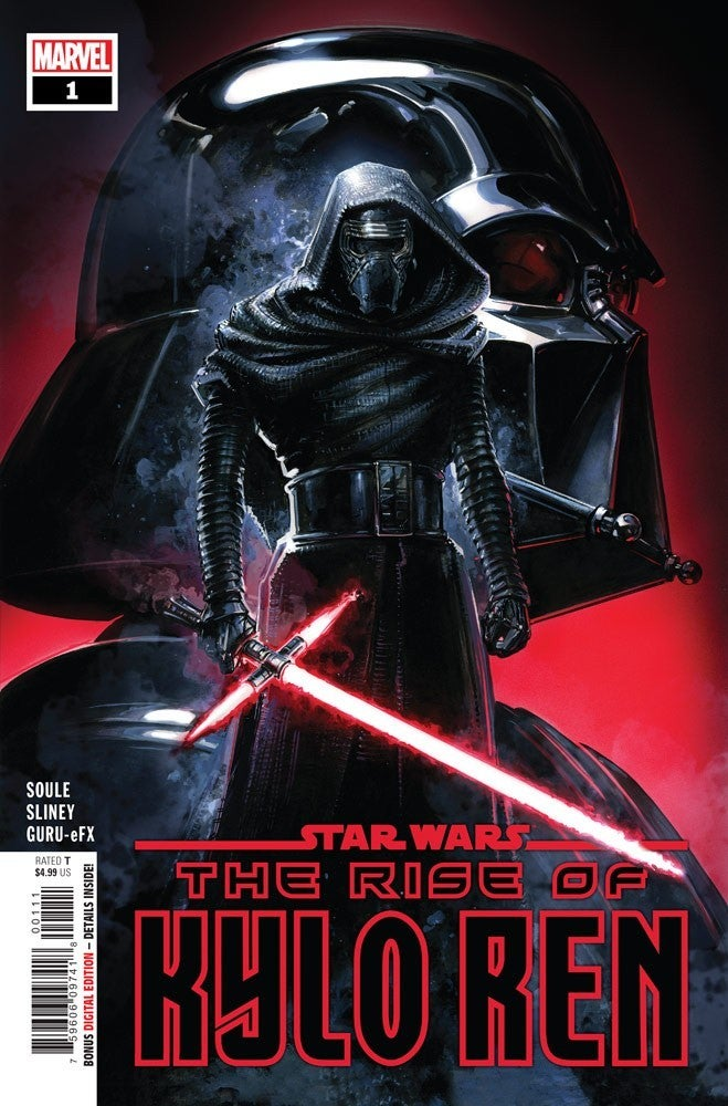 Marvel Star Wars The Rise of Kylo Ren Cover