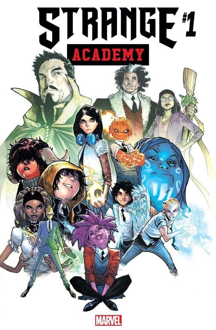 Marvel Strange Academy 1 Cover Art