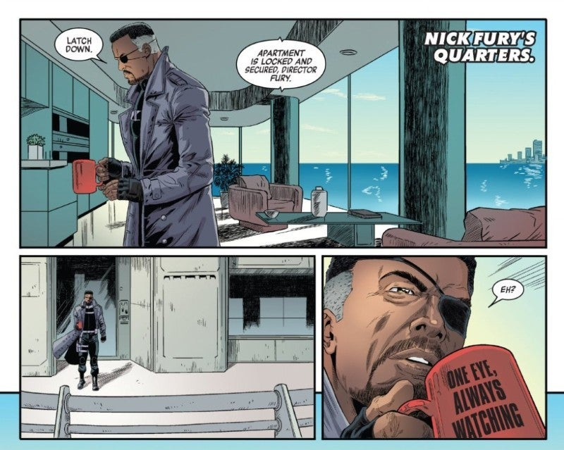 marvels avengers prequel comic nick fury