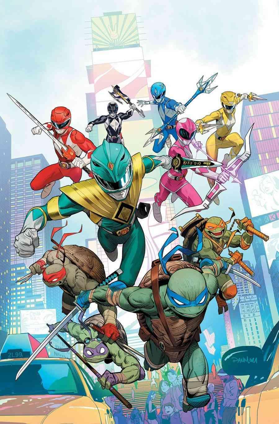 Mighty Morphin Power Rangers Teenage Mutant Ninja Turtles #1