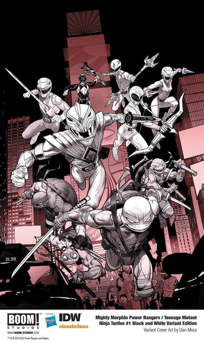 Mighty-Morphin-Power-Rangers-Teenage-Mutant-Ninja-Turtles-Black-White-Cover