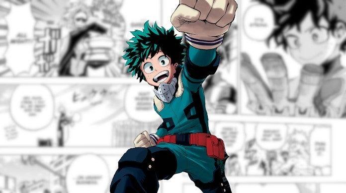 My Hero Academia Manga Chapter 253 Izuku Midoriya One For All Power Level Goals