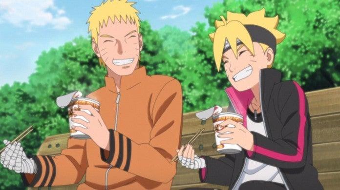 Naruto Boruto Father Son Ramen