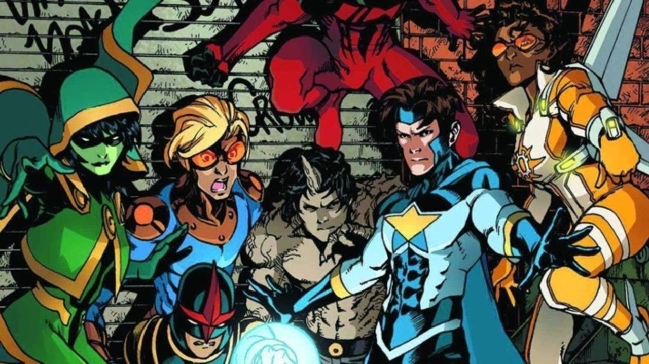 Marvel Brings Black a Classic Superhero Team