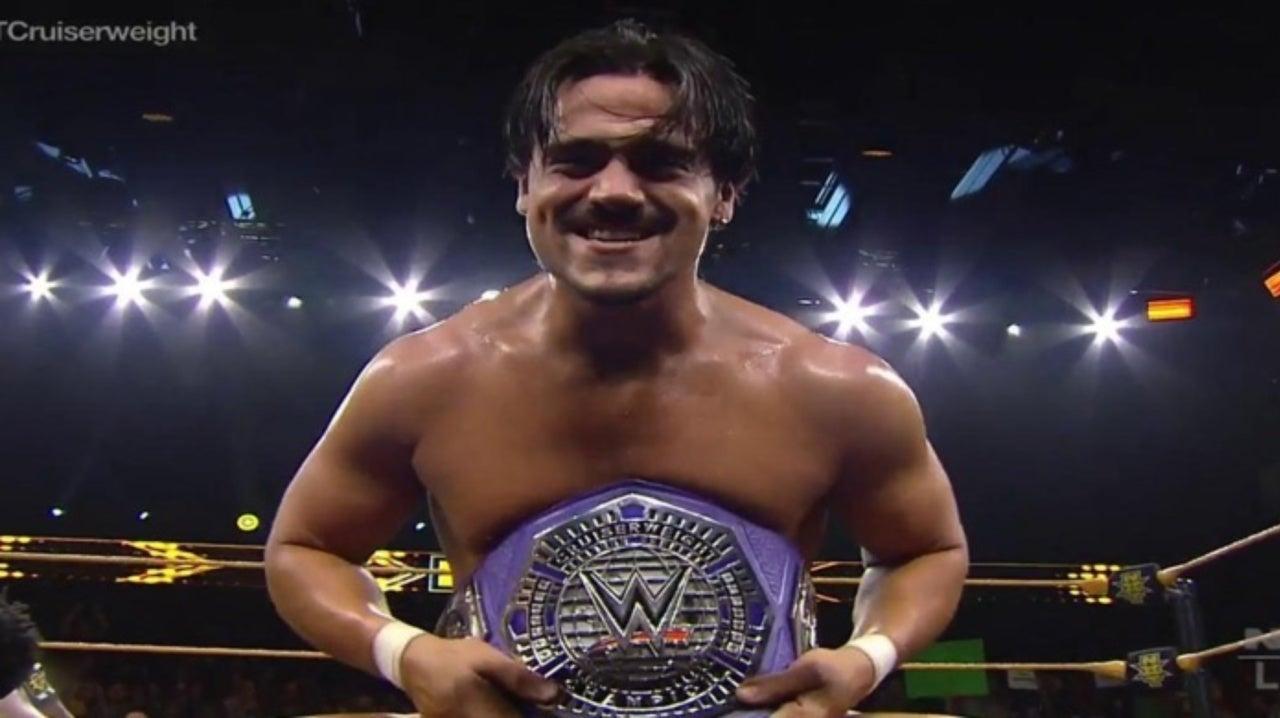 NXT's Angel Garza Wins Cruiserweight Championship