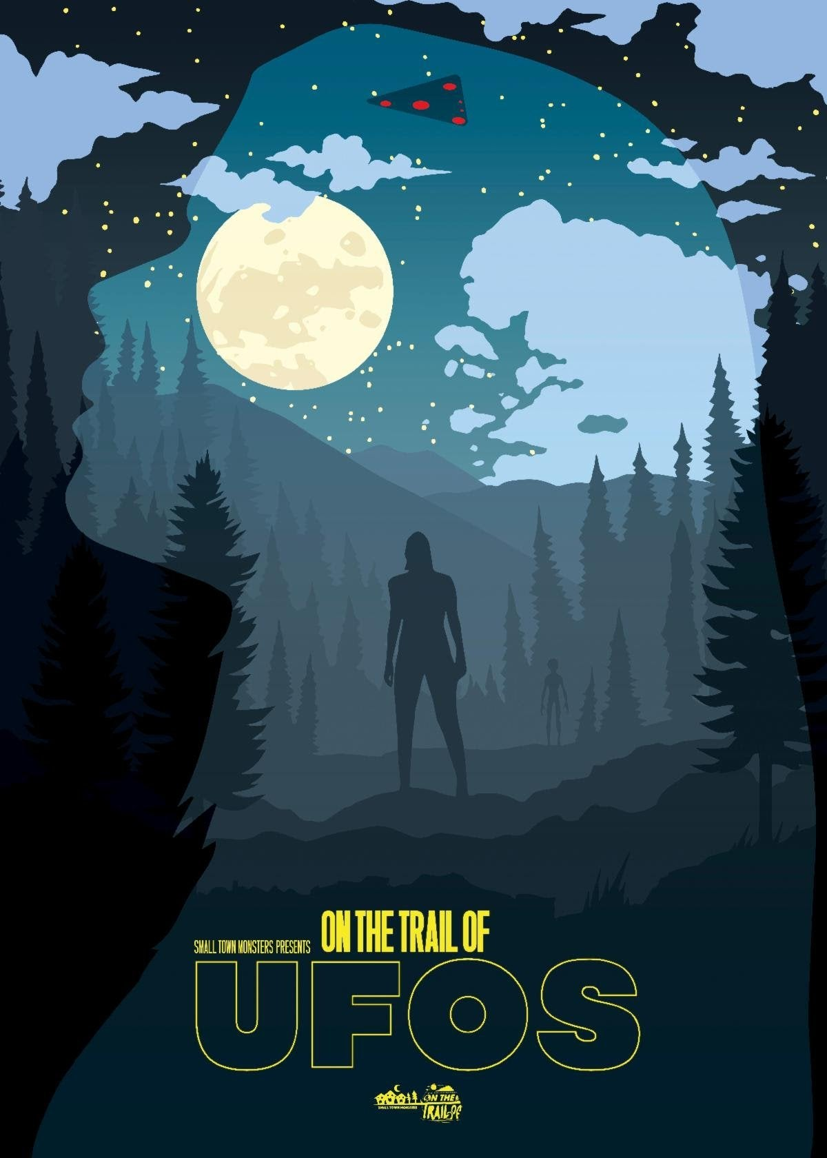 on the trail of ufos poster