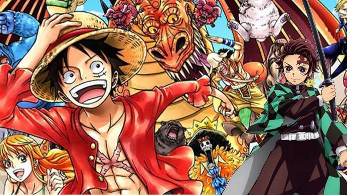 One Piece Demon Slayer
