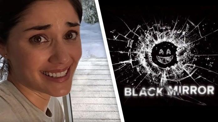 peloton ad holidays black mirror