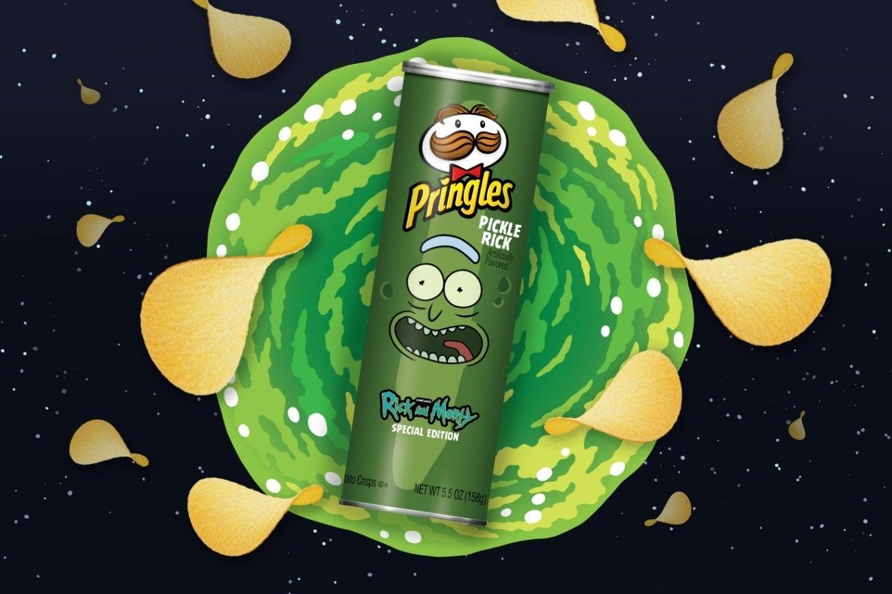 pickle rick pringles