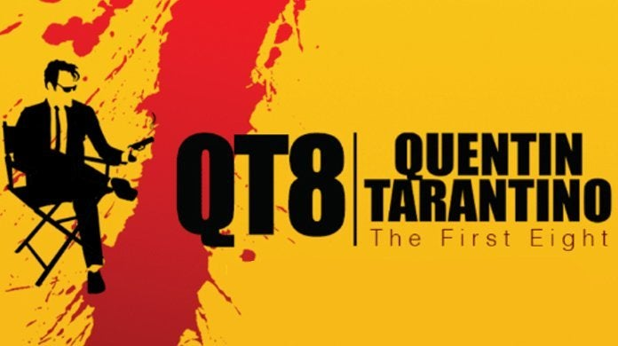 qt8 the first eight poster logo movie