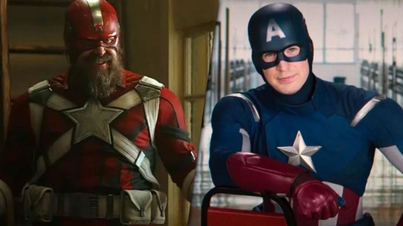 Exclusive Black Widow Footage Reveals Red Guardian's History With Captain America
