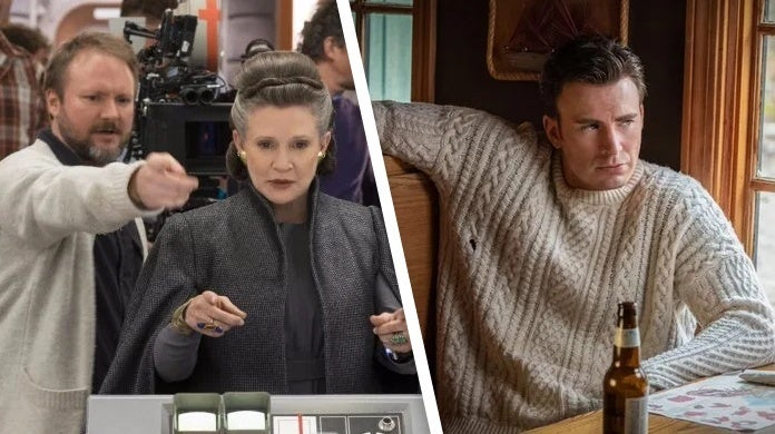 rian johnson knives out sweater