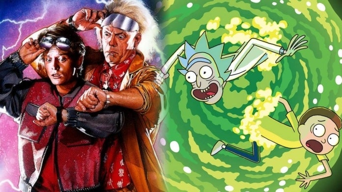 Rick and Morty Back to the Future comicbookcom