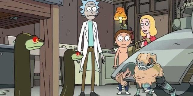Rick and Morty Ignites a Snake Terminator Apocalypse