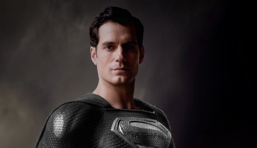 snyder cut black suit superman justice league