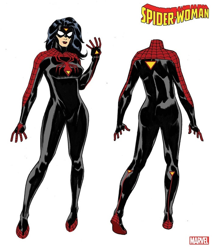 Spider-Woman-New-Costume-Art