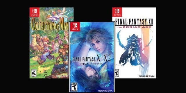 Square Enix Nintendo Switch Games Are $20 Today Only