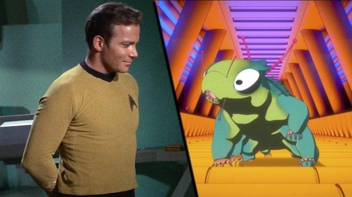 Star Trek Short Treks Ephraim and Dot Kirk Enterprise Crew