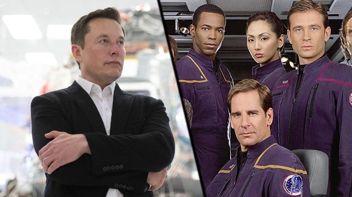 Star Trek Starfleet Space Force Elon Musk