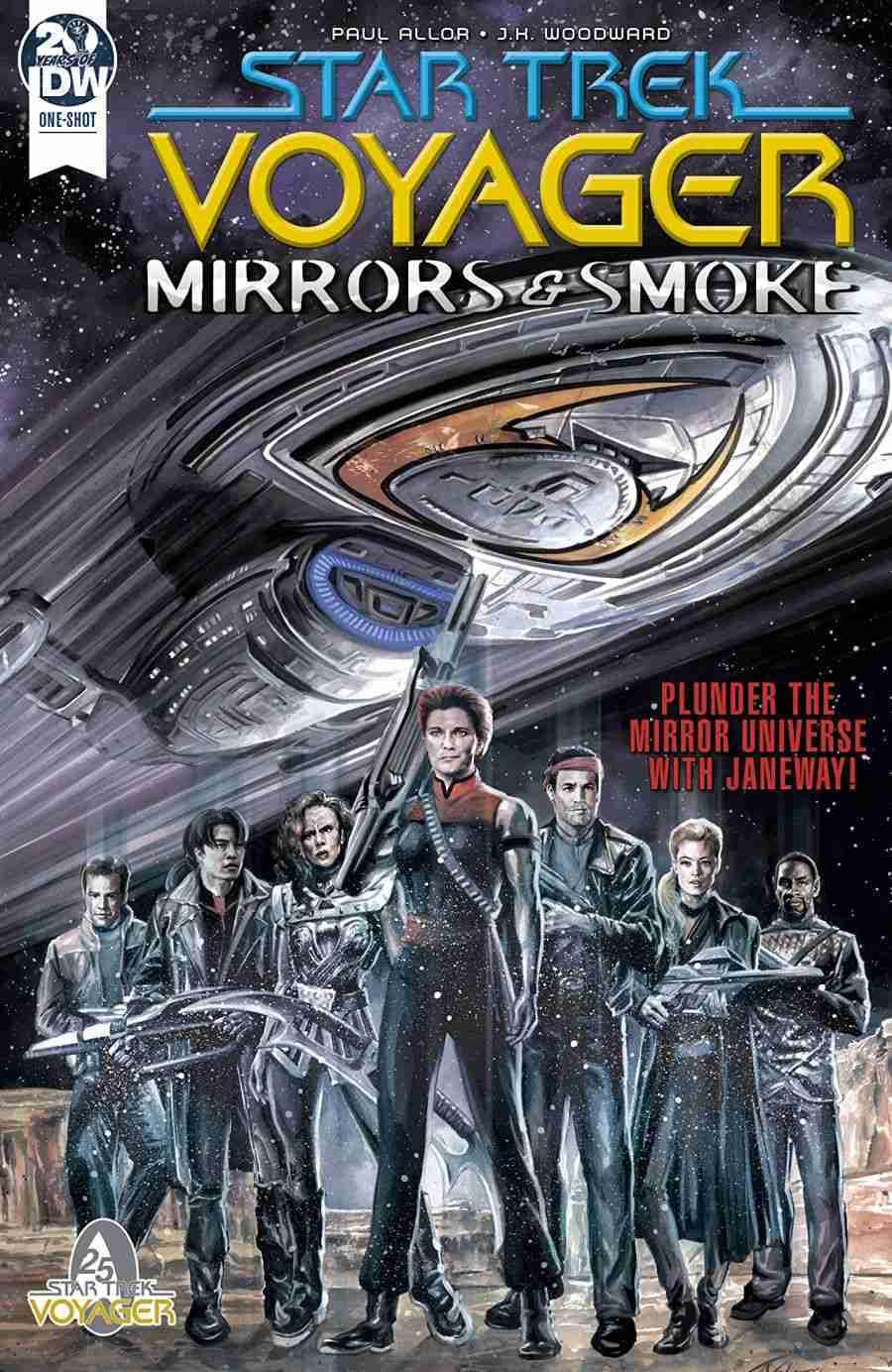 Star Trek Voyager Mirrors and Smoke