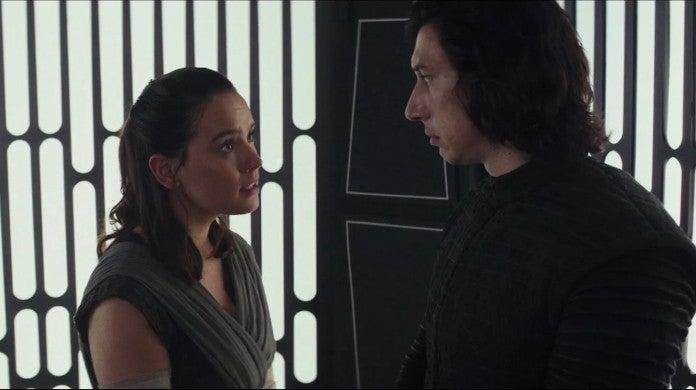 Star Wars 9 JJ Abrams Debunks Kylo Ren Rey Red Thread Fate Theory