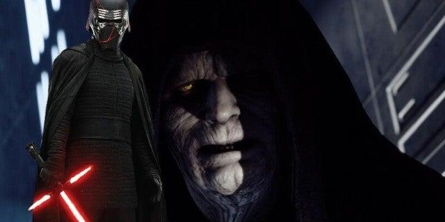 Star Wars 9 Rise of Skywalker Kylo Ren Meets Palpatine Scene Clip