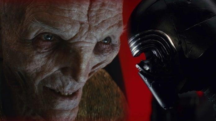 Star Wars Kylo Ren Snoke Last Jedi comicbookcom