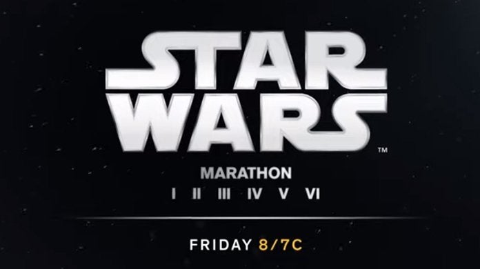 star wars marathon saga series franchise tnt