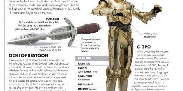 Star Wars Rise of Skywalker Visual Book - Ochi of Bestoon