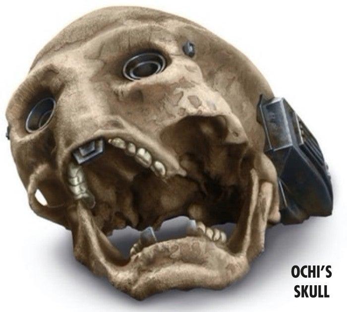 Star Wars Rise of Skywalker Visual Book - Ochi of Bestoon Skull