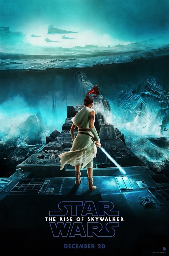 New Star Wars The Rise Of Skywalker Poster Teases Kylo Ren And Rey S Death Star Duel Comictaq