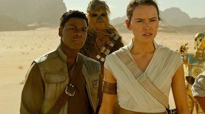 Star Wars Rise Skywalker What Was Finn Going Tell Rey Not I Love You John Boyega