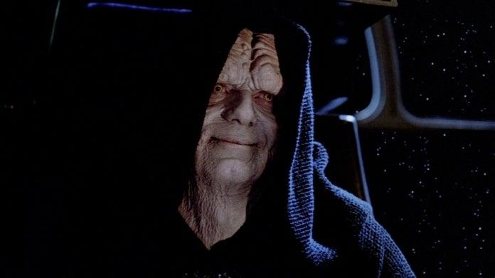 Star Wars The Emperor Ian McDiarmid