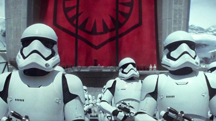 star wars the first order force awakens