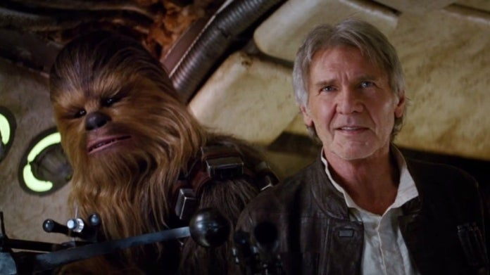Star Wars The Force Awakens Han Chewbacca