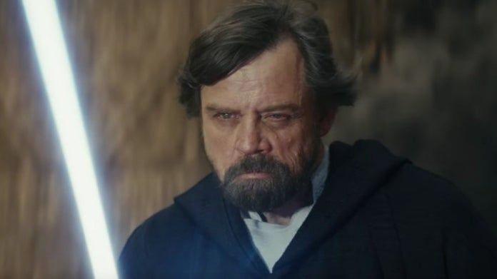 Star Wars The Last Jedi Luke Skywalker death
