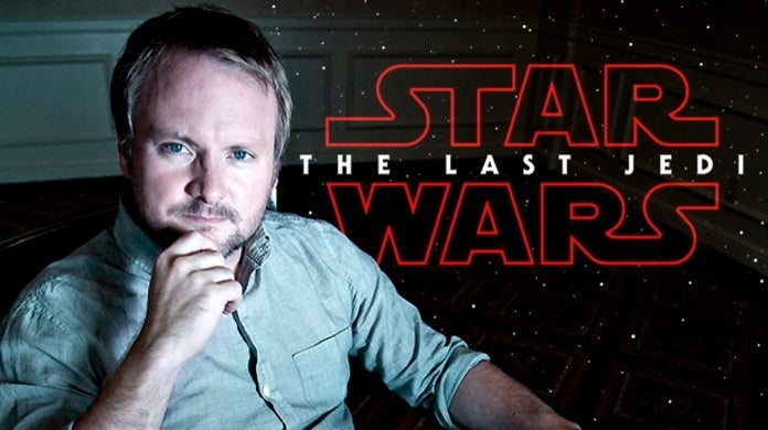 Star Wars The Last Jedi Thank You Rian Johnson Reaction