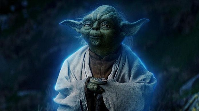 star wars the last jedi yoda force ghost