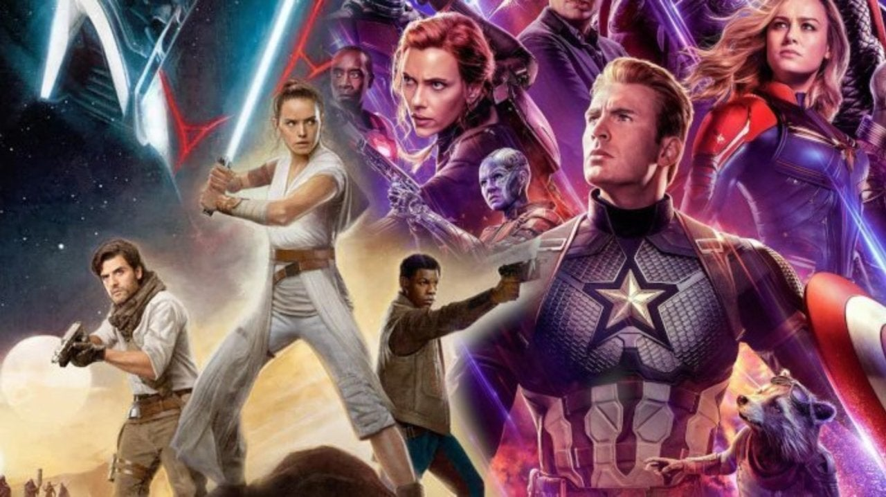 Avengers Endgame Fans Are Saying Star Wars The Rise Of Skywalker Ripped It Off
