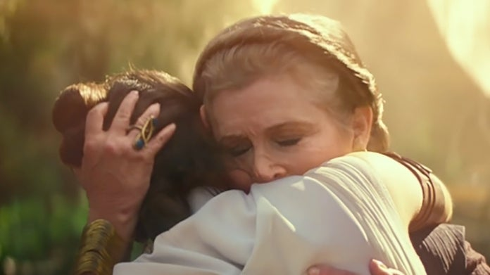 Star Wars The Rise of Skywalker Carrie Fisher Leia Rey