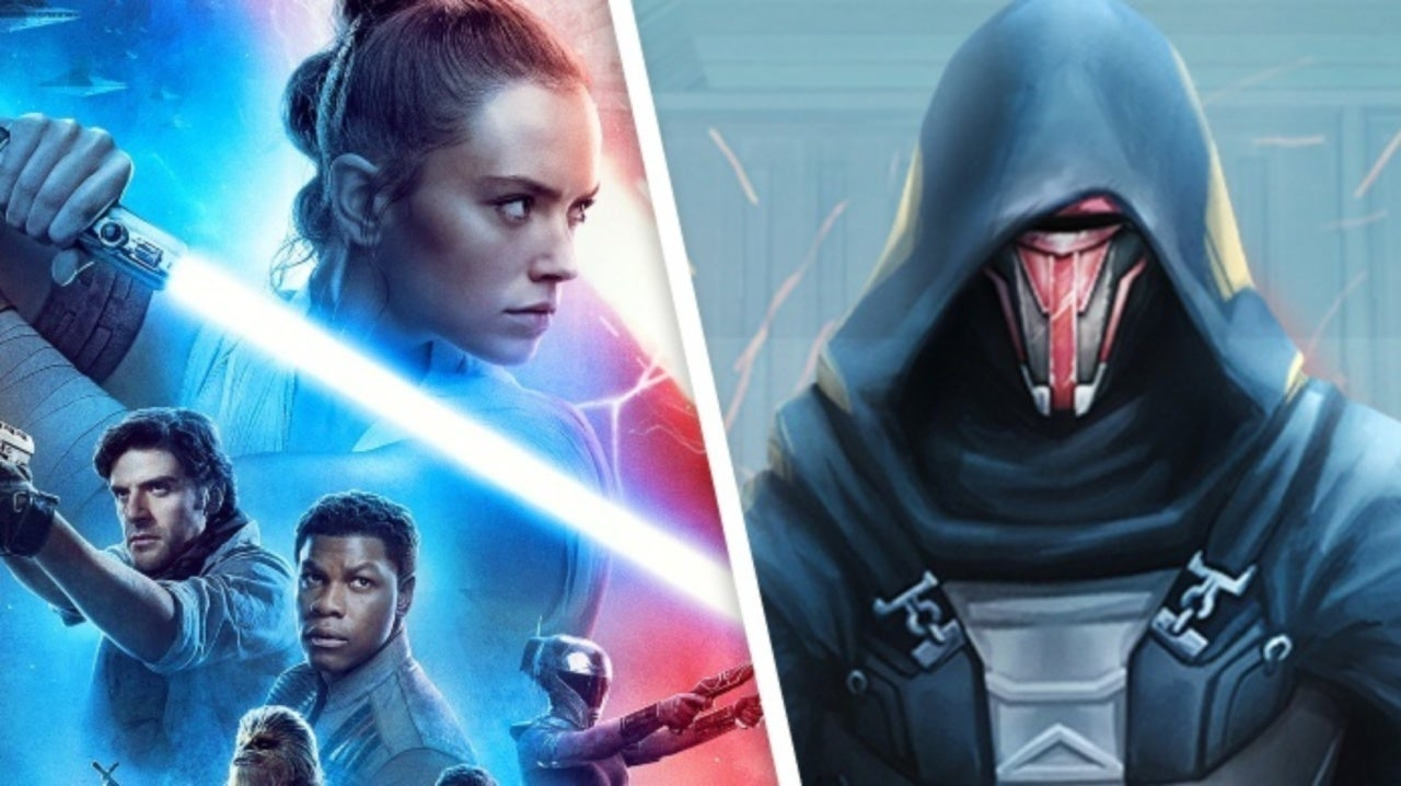 Star Wars The Rise Of Skywalker Hints Darth Revan Is Now Canon