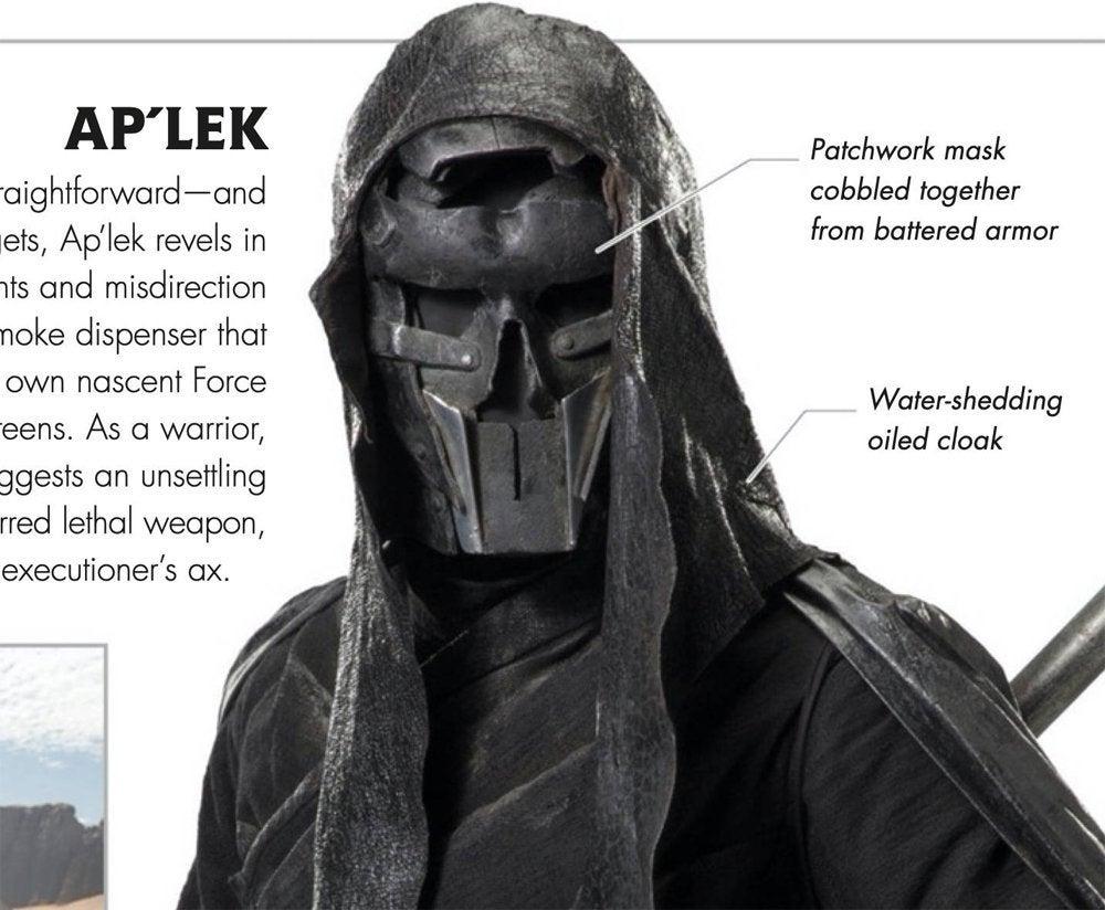 star wars the rise of skywalker knights of ren ap'lek