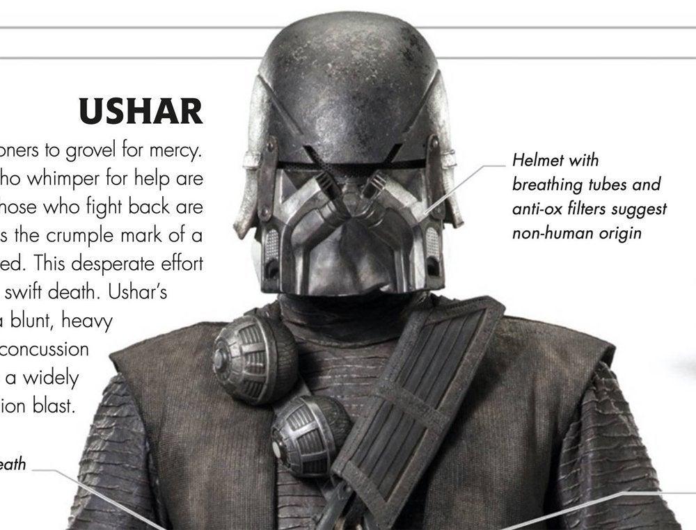 star wars the rise of skywalker knights of ren ushar