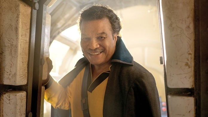 Star Wars The Rise of Skywalker Lando Calrissian Billy Dee Williams