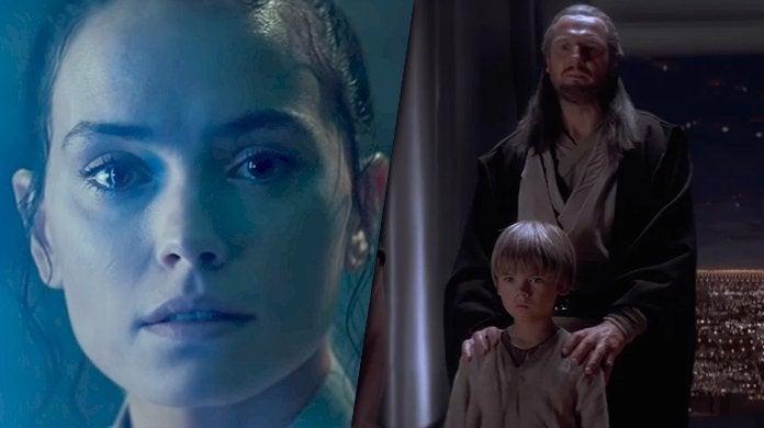 star wars the rise of skywalker prophecy anakin rey