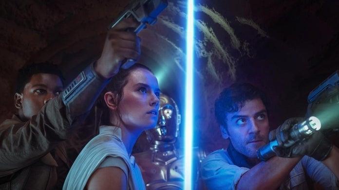 Star Wars The Rise of Skywalker Rey Finn Poe